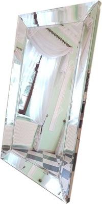 зеркало в зеркальном плечо 70x140 зеркальные стороны