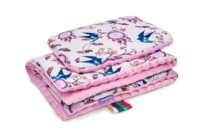 JUKKI трикотаж одеяло, подушка , комплект для тележку, одеяло