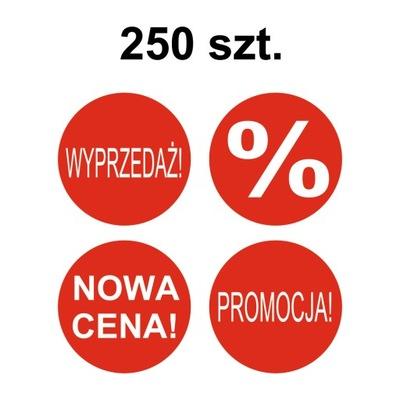 9c62ed5d0f9092 Etykiety PROMOCJA WYPRZEDAŻ -30-50% NOWOŚĆ 200szt 7660805948 ...