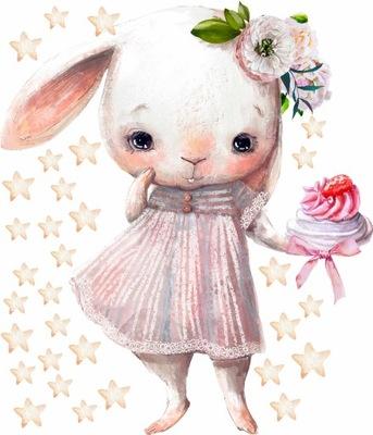 КРОЛИК кролик наклейка НА СТЕНУ ДЛЯ ДЕТЕЙ