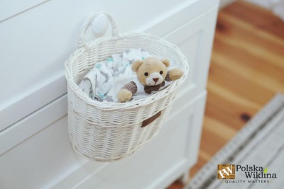 плетеный КОРЗИНА instagram Белый ??? в комнате вашего ребенка