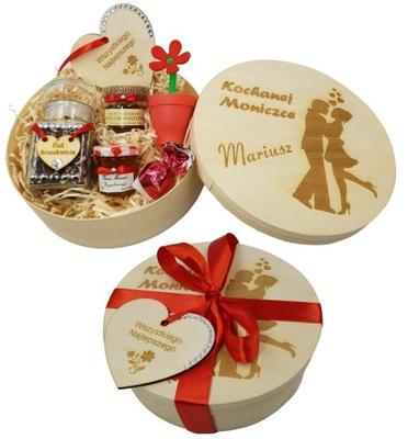 коробка гравер чай мед подарок Звездочка