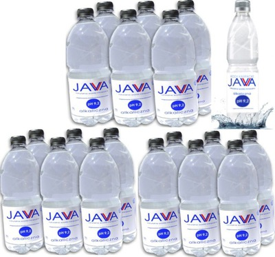 1 ,5 L Х 18 штук + 1  = щелочная вода JAVA