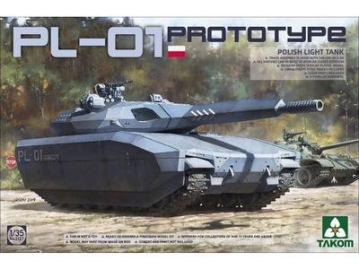Czołg prototypowy polski PL-01 Concept 2127 Takom