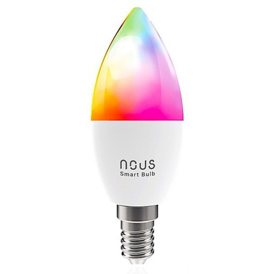 Умная лампа smart Wi-fi NOUS P4 RGB