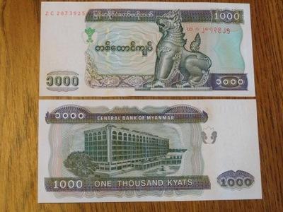 198.MYANMAR 1000 KYAT UNC