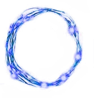 огни елочные НИТИ 20 MICRO LED BLUE bat