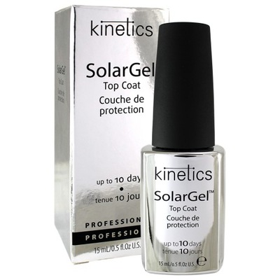 Kinetics - SOLARGEL TOP COAT - Top solarny 15ml