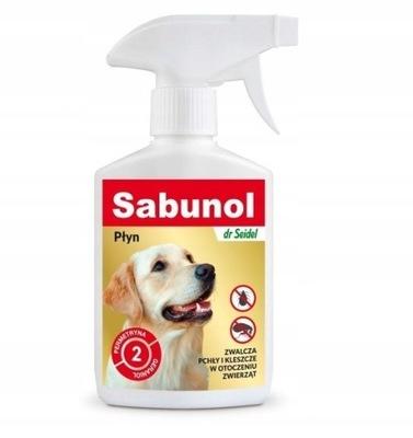 Сабунола спрей жидкость блох клещей окружение 250 мл