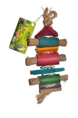 Игрушка натуральная попугаи Veggi Leather Small Cigar