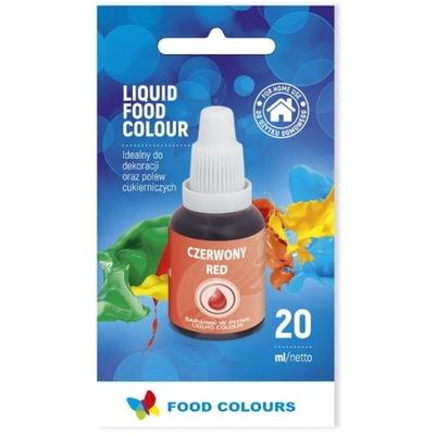 Food Colours Краситель пищевой ? жидкости красный