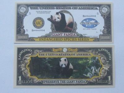 1 Million Банкноты ??? панда Огромная UNC 2004