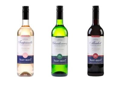 Night Восточный вино безалкогольные напитки 3шт (пол)Сухое