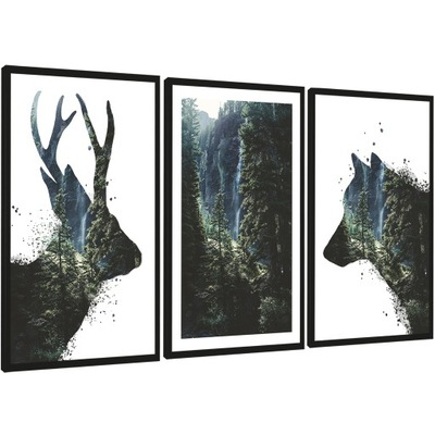 Современные изображения в плечо, Серия - 135/65 см !!!