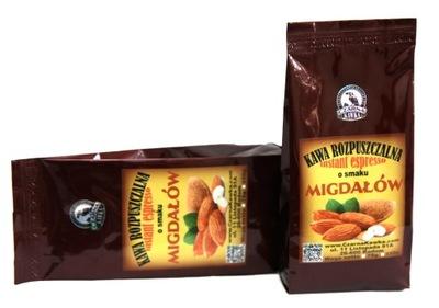 кофе растворимая ?? вкусом migdałowa Миндаль