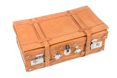 сумка Чемодан кожаная Ретро винтаж 48 x 27см