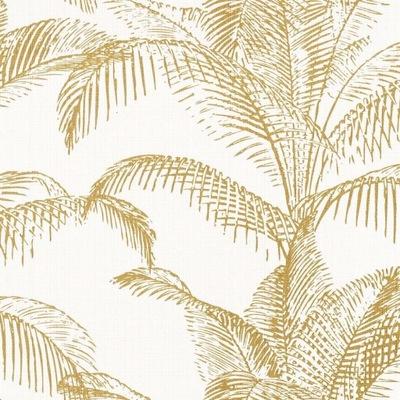 Золотые листья ПАЛЬМЫ -Обои - Rasch - SANSA -НОВИНКА
