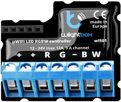 LED ovládač RGB RGBW MONO wi-fi BleBox wLightBox