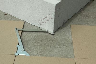 Mitre rozchod merania pre terakota a glazúra