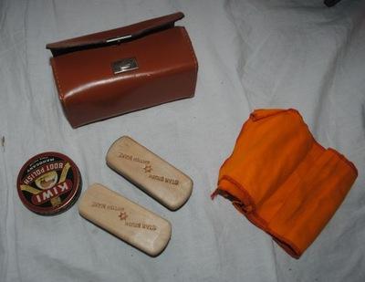 паста ??? обуви Киви + щетки чехол made England
