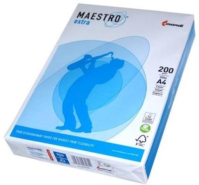 Papier ksero A3 200g MAESTRO EXTRA Premium MONDI