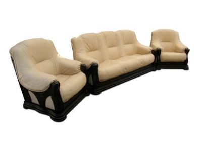 комплект кожаной мебели для отдыха диван-кровать от производителя