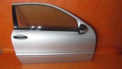 Mercedes W203 дверь, правое переднее передняя часть полная