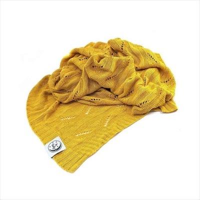 Bambusové deka žltá tkaná 100% BAMBUSU! Nové!