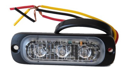 Lampa ST-3 LED niebieska ostrzegawcza stroboskop
