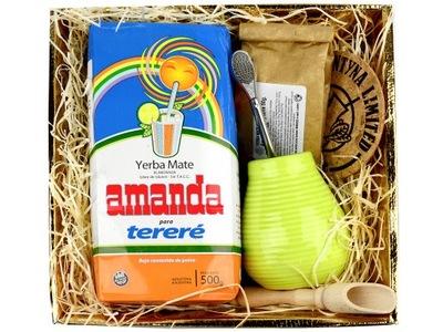 комплект с подарками с yerba mate Аманда Terere [05]