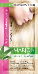 Szampon koloryzujący Marion 69 - Platynowy blond