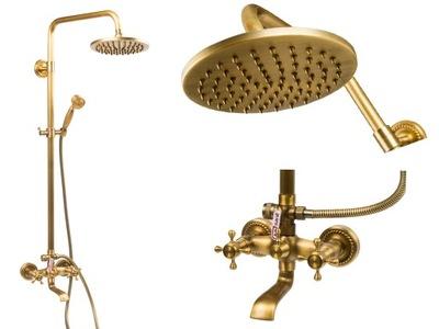 РЕТРО ??? + смеситель для ванны старые золото