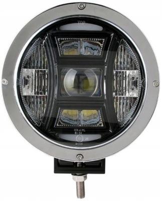 Галоген строительный LED электрические 70W 12 /24V Хром