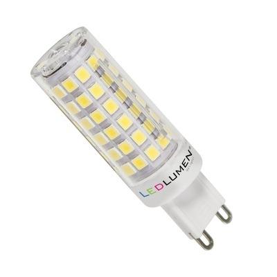 Лампа мини T18 Г-9 10 ВТ=70ВТ 74LED SMD 972lm Тепла
