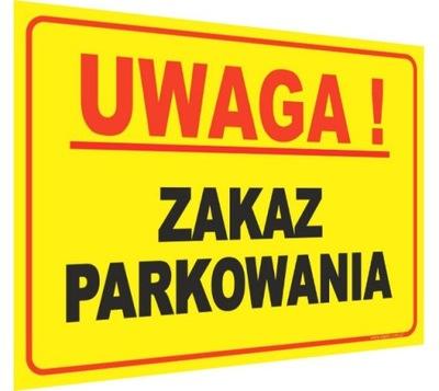 Таблица запрет парковки табличка