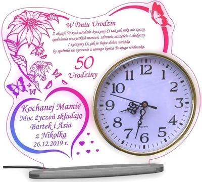 50 60 70 80 день рождения подарок часы ( XXXL