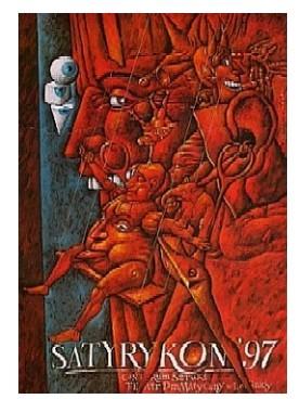 Лешек Вишневский - плакат Satyrykon 1997