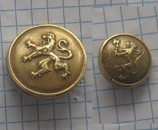 пуговицы бельгийский лев большой или маленький (1 )