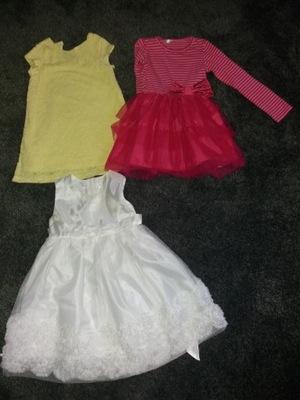 475e2462c9ef73 ubranka ciuszki dla dziewczynki 3-4 lata zestaw - 7665348473 ...