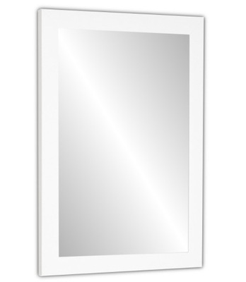 зеркало 70Х50 в раме белое сонома Венге 12 ЦВЕТА