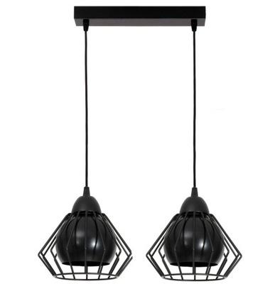 Luster stropné svietidlo 2 drôt lampshades loft 3 v 1