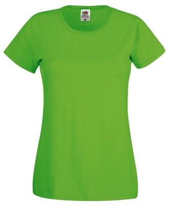 DAMSKA KOSZULKA T-SHIRT FRUIT fc lime green L