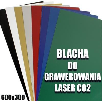Blacha do grawerowania Laser CO2 300x300mm