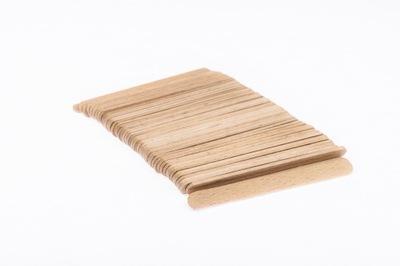 палочки деревянные для мороженое 9 ,3 прямые 50шт