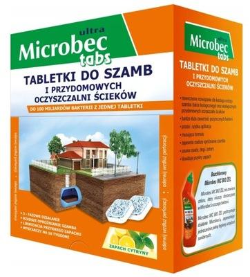 Microbec Препарат ??? выгребных ям сточных вод таблетки 16 штук