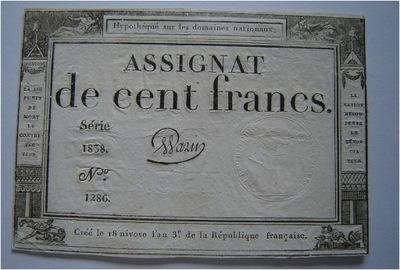 Francja 100 FRANKÓW 1795 RZADKI RRR