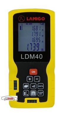 Laserový diaľkomer LDM40 0,05-40m LAMIGO
