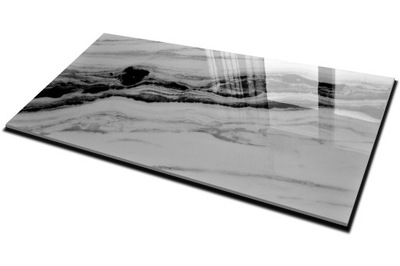 плитки Плитка керамогранит Белый Мрамор 160X80 CERAL