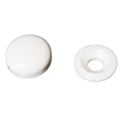 заглушка на винт/Розетка, маска белая -100шт