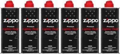 6x бензин ZIPPO 125ml ??? бензиновых зажигалок